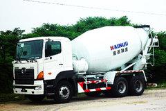 广汽日野 700系列 350马力 6X4 混凝土搅拌车(YC5250GJBFS2PK4)