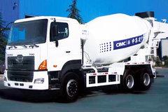 广汽日野 700系列 350马力 6X4 混凝土搅拌车(YC1250FS4PK)
