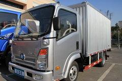 重汽王牌 7系 84马力 3.7米单排厢式轻卡 卡车图片