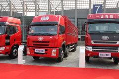 解放 奥威(J5P)重卡 280马力 8X4 仓栅载货车(轻量化)(CA5312CLXYP21K2L2T4E) 卡车图片