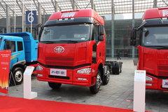 解放 J6P重卡 420马力 8X4 厢式载货车(轻量化)(CA5310XXYP66K24)