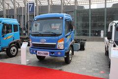 青岛解放 赛龙中卡 130马力 4X2 5.8米仓栅载货车(2010款)(CA5165XXYPK2EA80-1) 卡车图片