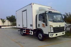 中国重汽HOWO 悍将 116马力 4X2 4米冷藏车(冰凌方)图片