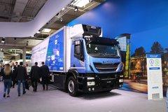 依维柯 Stralis 重卡 400马力 6X2 CNG冷藏车(AD260S40Y/PS NP)