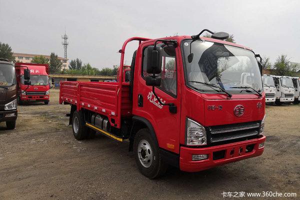 解放 虎VH 140马力 4.21米单排栏板轻卡(CA1049P40K2L1E5A84)