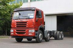 青岛解放 悍V重卡 350马力 8X4 7.4米自卸车(CA3310P1K2L5T4E5A80) 卡车图片