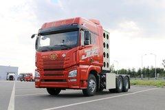 青岛解放 JH6重卡 430马力 6X4 CNG牵引车(CA4250P25K15T1NE5A80) 卡车图片