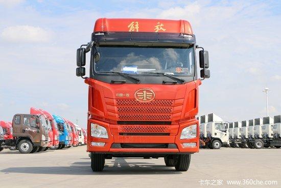 青岛解放 JH6重卡 460马力 8X4 9.5米畜禽式载货车(CA5310CCQP25K2L7T4E5A80)
