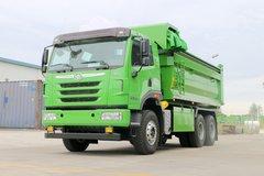 青岛解放 天V重卡 375马力 6X4 5.4米自卸车(CA5251ZLJP2K2L3T1E5A80) 卡车图片