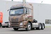 青岛解放 JH6重卡 400马力 6X4牵引车(褐色)(CA4250P26K15T1E5A80)