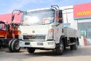 中国重汽HOWO 悍将 143马力 4.165米单排栏板轻卡(云内动力)(ZZ1047F3315E145)