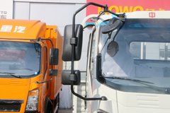 中国重汽HOWO 悍将 170马力 4.165米单排栏板轻卡(ZZ1047G3315E145) 卡车图片
