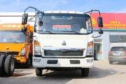 中国重汽HOWO 悍将 120马力 4.165米单排栏板轻卡(ZZ1047G3315E145)