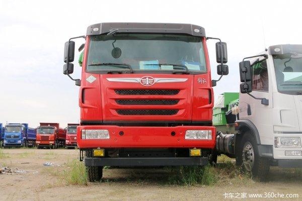 青岛解放 天V重卡 380马力 6X4 6.2米LNG自卸车(CA3256P2K2T1NE5A80-1)