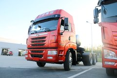 青岛解放 天V重卡 400马力 6X4 LNG牵引车(3.7速比)(CA4258P2K15T1NE5A80)
