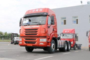 青岛解放 天V重卡 430马力 6X4牵引车(435后桥)(CA4256P2K15T1E5A80)