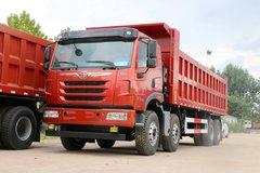 青岛解放 天V重卡 430马力 8X4 8.4米自卸车(CA3310P2K2L6T4E5A80) 卡车图片