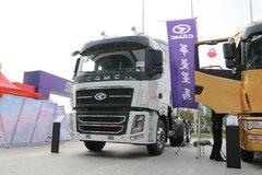 华菱 汉马H9重卡 410马力 6X4 LNG牵引车(高顶)(HN4250NGX41C9M5)