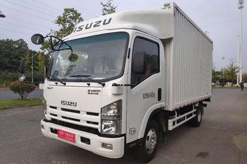 庆铃 五十铃KV100 115马力 4.17米单排厢式轻卡(QL5043XXYAMHAJ)