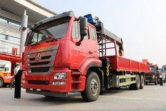 中国重汽 豪瀚J5G 280马力 6X4 随车吊底盘(ZZ1255N5843E1)