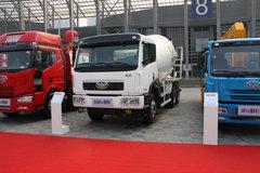 解放 新大威 370马力 6X4 混凝土搅拌车(CA5252GJBP2K2T1EA80)