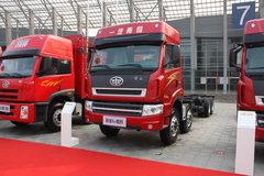 青岛解放 新大威重卡 336马力 8X4 9.5米栏板载货车(CA1310P2K2L7T4EA80) 卡车图片