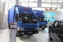 江铃凯锐 116马力 4米单排厢式轻卡(宽体豪华) 卡车图片