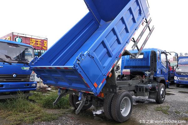 重汽王牌 7系 143马力 4X2 3.8米自卸车(CDW3040A2Q5)