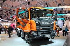 斯堪尼亚 G系列重卡 450马力 8X4自卸车(TX G450 B8x4HZ) 卡车图片
