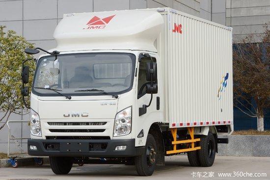 江铃 凯运强劲版 轻载型豪华款 129马力 4.08米单排厢式轻卡(宽体)(JX5042XXYXGD2)