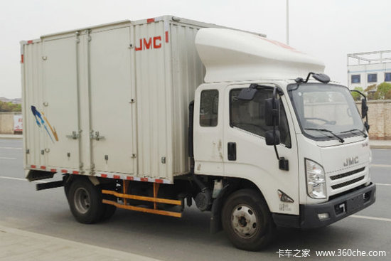 江铃 凯运强劲版 重载型豪华款 129马力 3.68米排半厢式轻卡(JX5042XXYXPGC2)