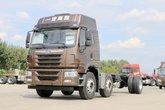 青岛解放 悍V重卡 290马力 6X2 7.7米仓栅式载货车(CA5250CCYP1K2L5T3E5A80-1)