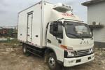 江淮 骏铃V6 156马力 4X2 4.03米冷藏车(HFC5043XLCP91K2C2V)图片