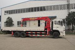 东风商用车 天龙 270马力 6X4 8.4米随车吊(法士特)(DFC5250JSQA13)