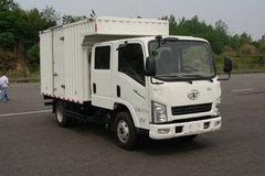 一汽红塔 解放公狮 110马力 3.145米双排厢式轻卡(CA5040XXYK2L3RE5B) 卡车图片