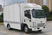 骐铃汽车 EV300 4.5T 4.15米单排纯电动厢式轻卡(JML5041XXYBEV01)