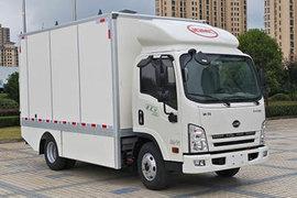 骐铃汽车 EV300 4.5T 4.08米单排纯电动厢式轻卡