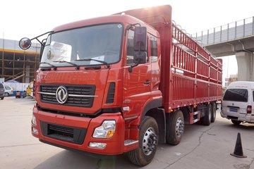 东风商用车 天龙重卡 350马力 8X4 9.6米仓栅式载货车