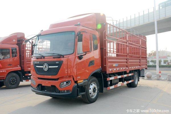 东风商用车 天锦KR 180马力 4X2 5.8米排半仓栅式载货车