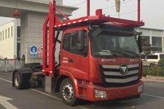 福田 欧曼新ETX 320马力 6系重卡 4X2车辆运输半挂牵引车(BJ5183TBQ-AA) 卡车图片