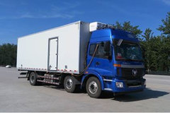福田 欧曼ETX 5系重卡 220马力 6X2 8.6米冷藏车(BJ5252XLC-AB)