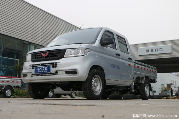 五菱 荣光新卡 1.8L 133马力 汽油 2.45米双排栏板微卡