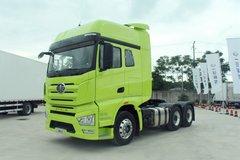 一汽解放 J7重卡 500马力 6X4牵引车(嫩芽绿)(CA4250P77K25T1E5)图片