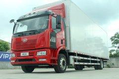 一汽解放 J6L重卡 领航版 240马力 4X2 9.7米厢式载货车(CA5180XXYP62K1L7E5) 卡车图片