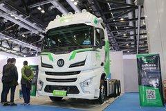 图森未来 550马力 6X4自动驾驶牵引车