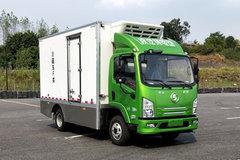 陕汽商用车 轩德E9 4.5T 4.1米单排纯电动冷藏车(SX5048XLCBEV331L)103.42kWh