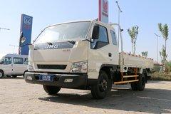 江铃 顺达宽体 普通版 116马力 3.7米排半栏板轻卡(JX1042TPG25) 卡车图片