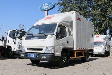 江铃 顺达宽体 豪华款 116马力 3.62米排半厢式轻卡(JX5048XXYXPGC2)