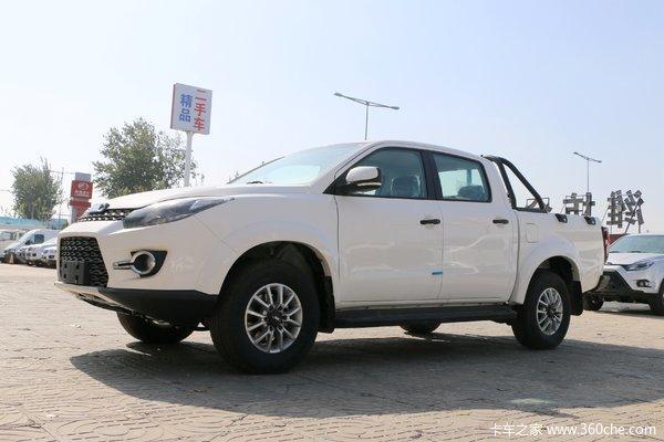 江铃 域虎3 2018款 进取版 1.8T汽油 177马力 两驱 标准轴距双排皮卡
