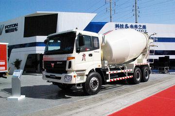 福田欧曼ETX 9系 380马力 6X4 CNG混凝土搅拌车(BJ5253GJB-XF)